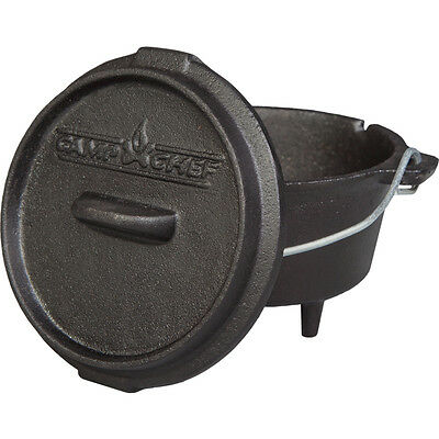 Camp Chef Deluxe Dutch Oven DO-5, Outdoor Cooking, Feuertopf, Gusstopf