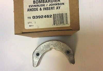 New OEM Johnson Evinrude  35HP - 75HP Trim Anode Outboard 0392462 392462