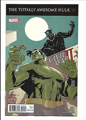 THE TOTALLY AWESOME HULK # 10 (CW2, NOV 2016), NM NEW (Bagged & Boarded)