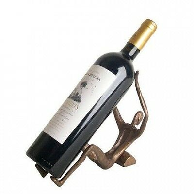 Danya B Man Laying 1 Bottle Tabletop Wine Rack. Delivery is Free