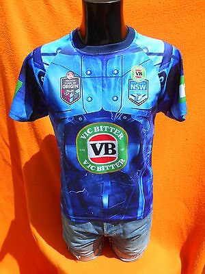 NSW BLUES Jersey Maillot Maglia New South Wales Holden Australia Rugby XIII 13