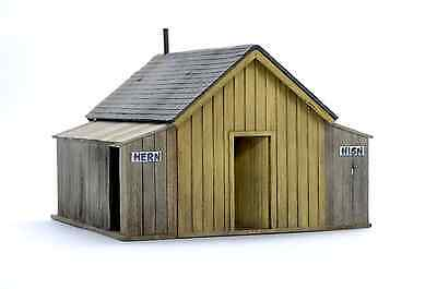 Building & Structure Co S Scale Telluride Depot Outhouse  Laser Kit S133
