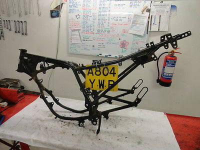 1984 Honda Mbx125F Mbx 125 2T Lc Motorbike Part Frame With Numberplate + Full V5