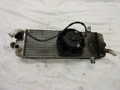 2007 Suzuki Burgman Uh125 Uh 125 Scooter Moped Radiator With Cooling Fan