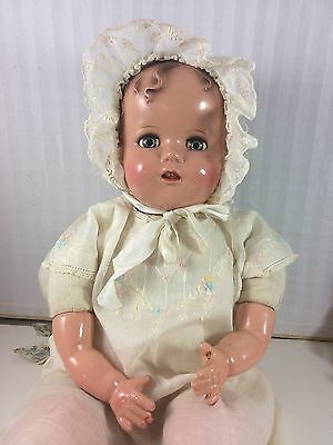 """20"""" Ideal Miracle On 34Th Street! Baby Beautiful! Composition With Cloth Body"""