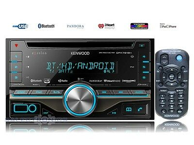 Kenwood DPX-791BH Double-DIN Car HD Radio AM/FM USB CD MP3 Stereo 2-DIN Receiver