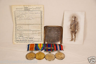 Named Canadian Medal WWI & WWII Photos Documents Letters Family Tree to c.1570