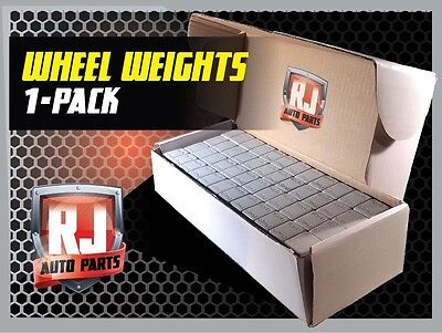 18- 9 Lb Boxes 10,368 Pieces Stick-On Adhesive Tape 1/4 Oz Wheel Weights