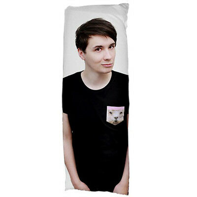 DAN HOWELL DANISNOTONFIRE Body Pillow