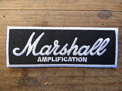 ECUSSON PATCH THERMOCOLLANT aufnaher toppa MARSHALL amplification musique rock