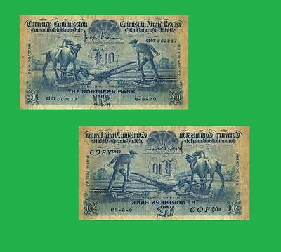 Ireland Currency 5 Pounds 1933 Ploughman Note  UNC Reproductions