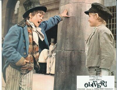 Mark Lester and Jack Wild UNSIGNED photo - G29 - Oliver!