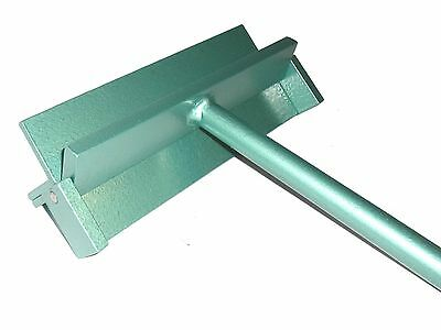 Sheet Metal Folder / Bending Tool - 250mm / 2mm Steel -  Quick delivery!
