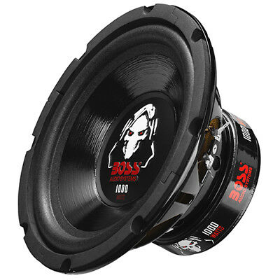 Boss Audio P80DVC 8in Phantom Series 1000W max Subwoofer