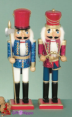Christmas Decorations - Stunning Christmas Nutcracker Soldiers - 2 Designs 38cm