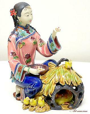 Ancient Chinese Lady - Ceramic Lady Figurine