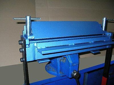 "Bending sheet metal folder, bender - 400mm (15.8"") / 3mm Steel - Clip inside"