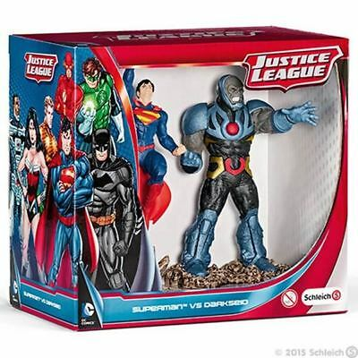 NEW Superman vs Darkseid Scenery Pack by Schleich from Purple Turtle Toys