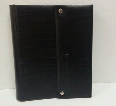 Photo Album -Color  Black - Memo/Journaling Areas 300 Slots- 4 X 6 Photos
