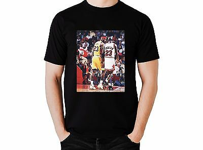 8a27947f70d4 Michael Jordan And Lebron James Trash Talk T Shirt !! Cavs Bulls Champions