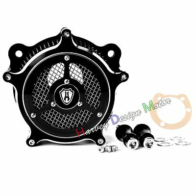 New Clarity Venturi Air Cleaner Intake Filter System For Harley Softail 93-15