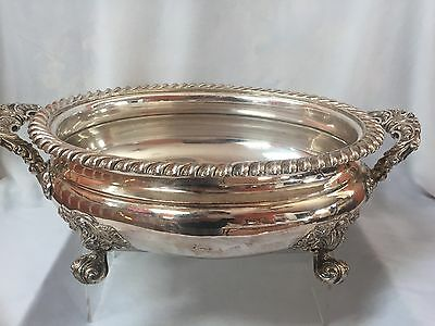 19th C. Sheffield Silver Plated Tureen