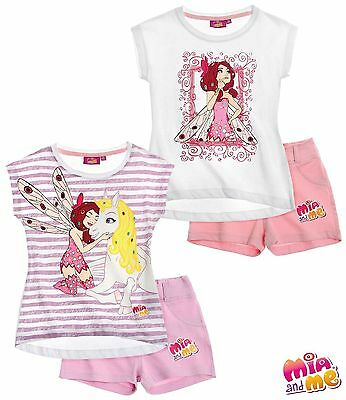 Girls Official Mia And Me Shorty Set 4 Yrs - 12Yrs Bnwt