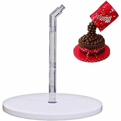 Anti-Gravity Cake Pouring Kit 9 Pieces Decoration Stand Frame Show Stopping New