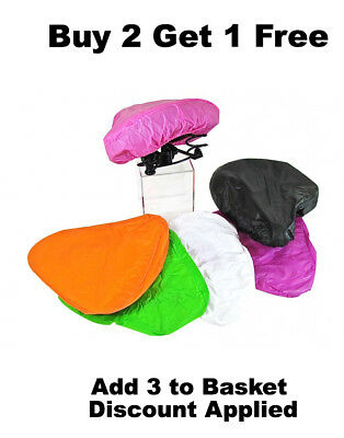 1 BIKE SEAT WATERPROOF RAIN COVER Adult Children Bicycle Protective NEW