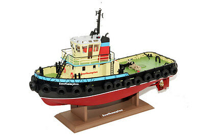 Southampton Tug Boat with Smoke, Working Lights, Horn 2.4GHz Radio - Hobby Engin