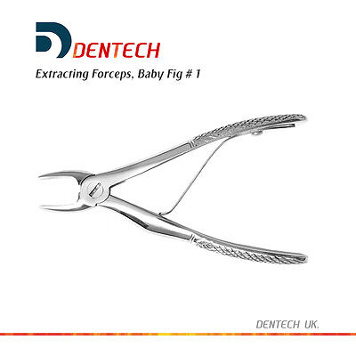 Tooth Extracting Extraction Forceps Children Incisors Dental Instrument Fig 1