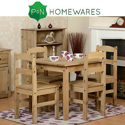 Panama Pine Dining Table and 4 Chairs Set NEW premium quality