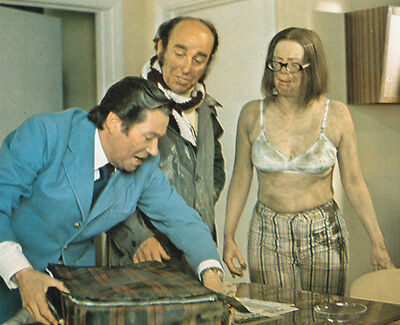 Anna Karen, Reg Varney & Michael Robbins UNSIGNED photo - G104 - On the Buses