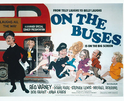 On the Buses UNSIGNED poster photo - G110
