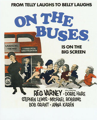 On the Buses UNSIGNED poster photo - G115