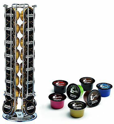 Caffitaly 32 Coffee Pod Holder Capsule Stand Ideal For Ecaffe, Crem Caffe Dualit