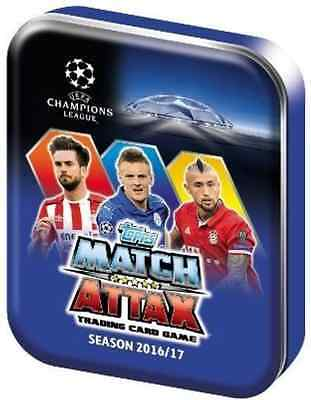 MINI TIN Topps Champions League 2016 2017 ( 36 x cards , 1 x Limited Edition)