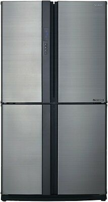 NEW Sharp SJXE624FSL 624L French Door Refrigerator