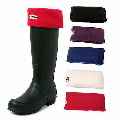 Hunter Red Knited Welly Long Socks For Tall Rain Boots Liners Socks size  M