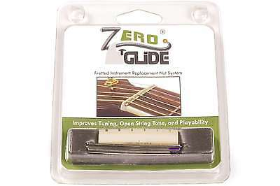 Genuine Zero Glide ZS-14 Slotted nut replacement system for Guitars - NEW