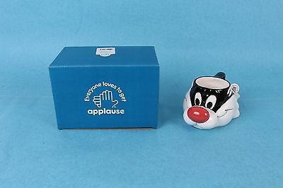 1991 Applause Warner Bros. Sylvester Cat Looney Tunes Coffee Mug Mint In Box