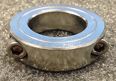 """Lot of 5 - CLIMAX Metal Products; Shaft Collar, 2Pc, 1 1/8""""; Model: 2C-112-S"""