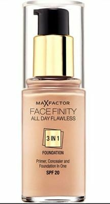 Max Factor Facefinity 3 In 1 Foundation 30ml - Choose Shade