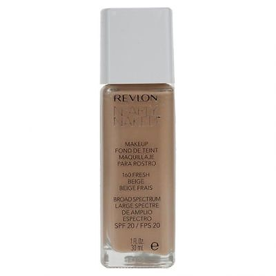 Revlon Nearly Naked Foundation SPF20 - 30ml - Choose Shade