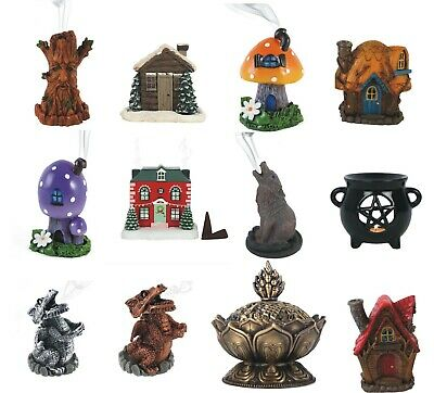Lisa Parker Witches Hat Incense Cone Burner with Frog / Mouse incence insense