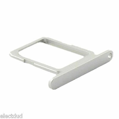 For Samsung S6  G920 Replacement SIM Card Holder Tray silver