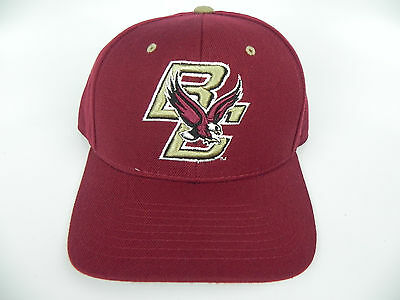 4dc2b3841c7 Boston College Eagles Bc Maroon Ncaa Vintage Fitted Sized Zephyr Dh Cap Hat  Nwt!