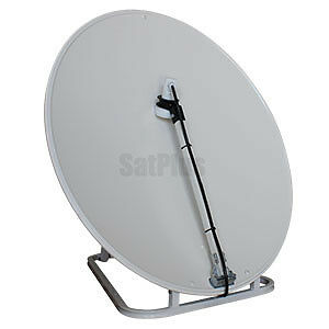 MiniMax75 Satellite Dish with 10700 LNB and Padded Carry Bag