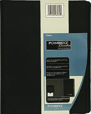 Mead Cambridge Limited Refillable Notebook Cover (06589) 1 Pack,Includes 48 page