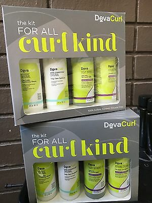 DevaCurl The Kit For All Curl Kinds - 2 PACK - Free Expedited Shipping!